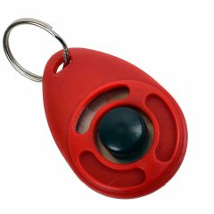 Roter Clickertraining Clicker - Hundetraining und Tiertraining