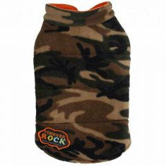 Big Dog Hundebekleidung aus Fleece von DoggyDolly BD031 - www.doggy-dolly.de