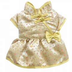 Hundekleid Asia gold