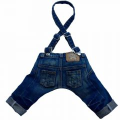 Dark blue HipHop Hundejeans