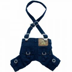 DoggyDolly Hundeknickerbocker blau