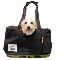 Coole Hundetasche im Army Look