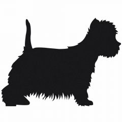 Deko Sticker Hund - West Highland Terrier