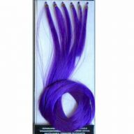 Funny extensions midde blue - hair accessories