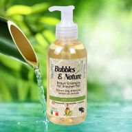 Bubbles & Nature super braun Hundeshampoo