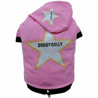 DoggyDolly Star Hundepullover rosa