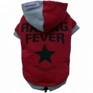 Racing Fever Hundepullover rot von DoggyDolly
